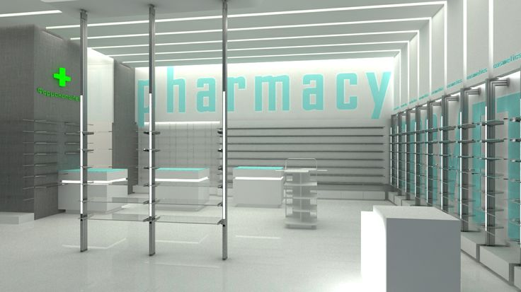 Pharmacy render designed by Voyatzoglou Systems http://patriciaalberca.blogspot.com.es/