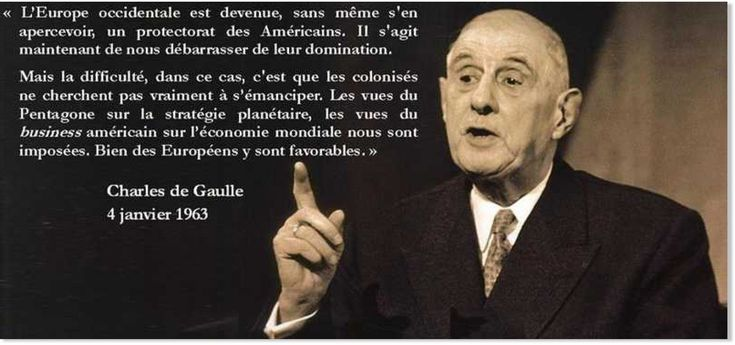 « La seule chose que les Américains ne lui ont jamais pardonné, m'a dit Pierre Messmer peu avant sa mort, ça n'est pas sa sortie de la défense intégrée de l'OTAN (où Sarkozy veut nous faire reentrer), ni son fameux discours de Pnom-Penh dénonçant...