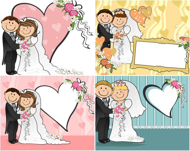 Wedding Illustrations | Cartoon wedding vector
