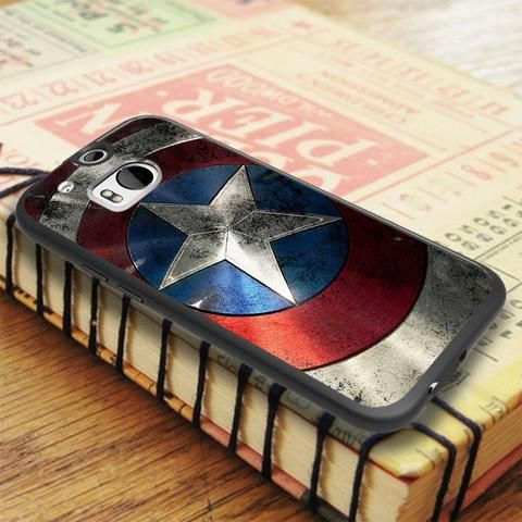 Captain America 2 Shield HTC One M8 Case