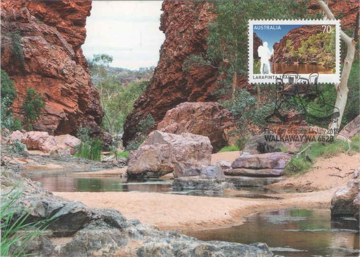 AU-504752 - Arrived: 2016.07.19 ---   The Larapinta Trail is an extended walking track in the Northern Territory, Australia. Total length is 223 kilometres