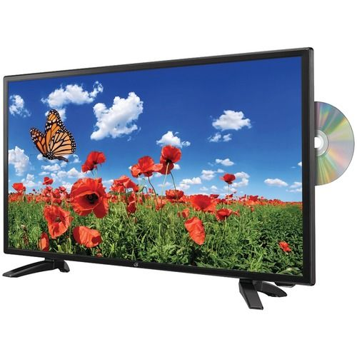 """Gpx 24"""" 1080p Full Hd Led Tv And Dvd Combination"""