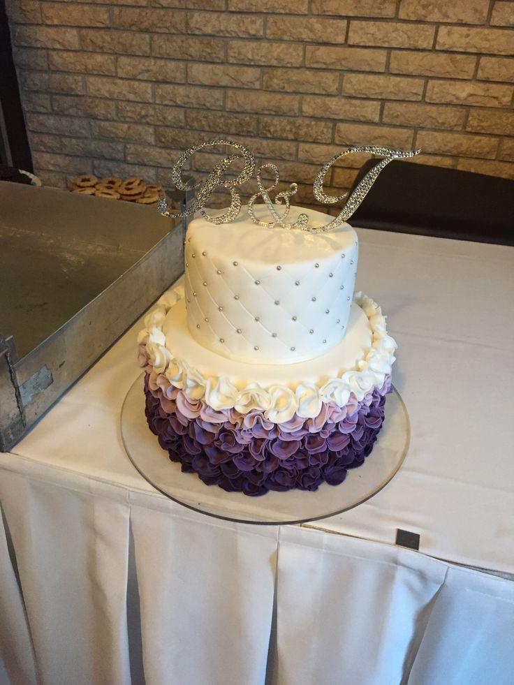 Kristályokkal díszített esküvői tortadíszek - Monogram cake toppers with Swarovski