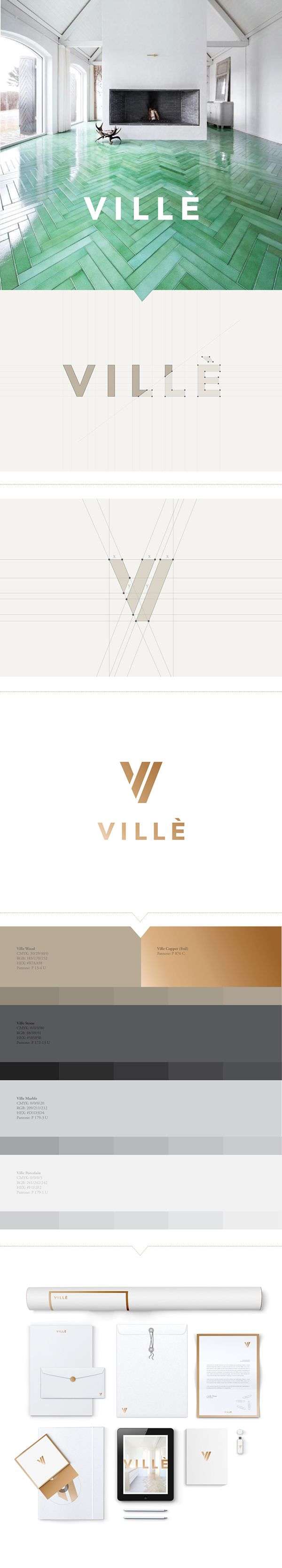 We worked with Villè, a well-established company providing architectural and design solutions to real estate developers in the A&D community. Knowing that the result of the project required nothing less than high-end luxury, we chose to create a brand rev…