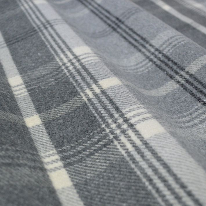 Made To Measure Curtains Balmoral Dove Grey - Made To Measure Curtains Arcadia Textiles - Made to measure curtains Balmoral Dove Grey. A very thick and luxurious woven check design, heavy weight curtains,