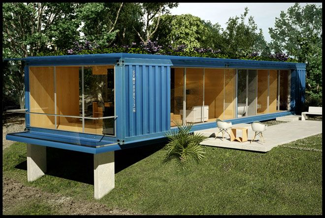 IN THE BOX | Modern | Eco | Shipping Container Home | Connex | Cube | Freight Box | Container Living