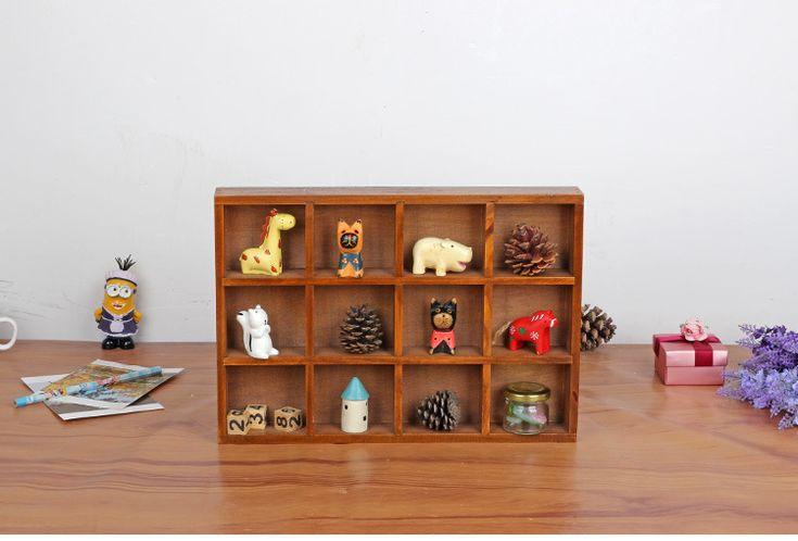 Купить товар1 шт. 2016 Zakka продуктовый деревянный ретро 12 решетки дерево рабочего ювелирные изделия мясистые ящик для хранения J0904 в категории Коробки и лотки для храненияна AliExpress.            Описание товара:                             Название статьи: ящик для хранения древесины
