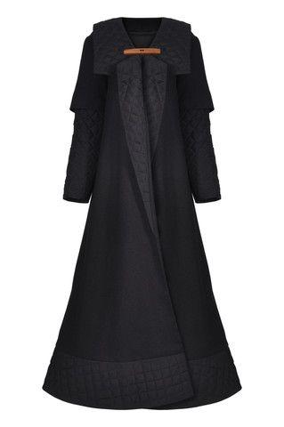 AW14-15 004 Long Coat/ Abaya | Haute Élan