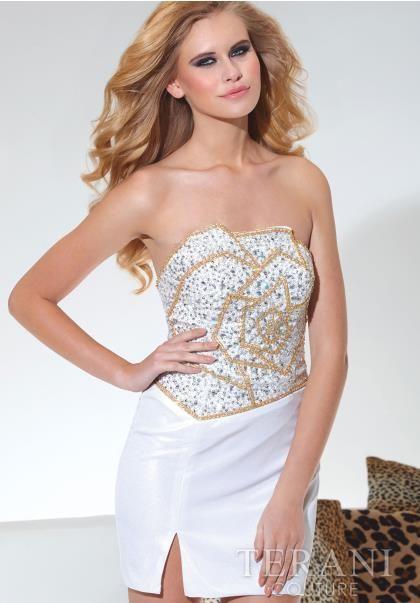 Terani Dress H1919 at Peaches Boutique
