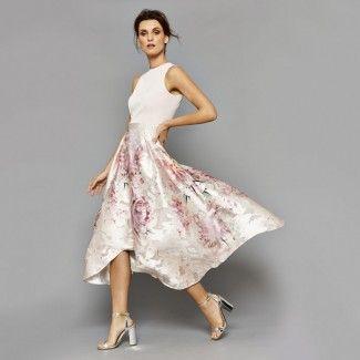 Coast Orsay Floral Midi Dress 1744098 - Multi