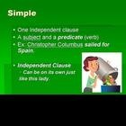 This powerpoint teaches the four different sentence structures: simple, compound, complex, and compound-complex. Example sentences are given and vi...
