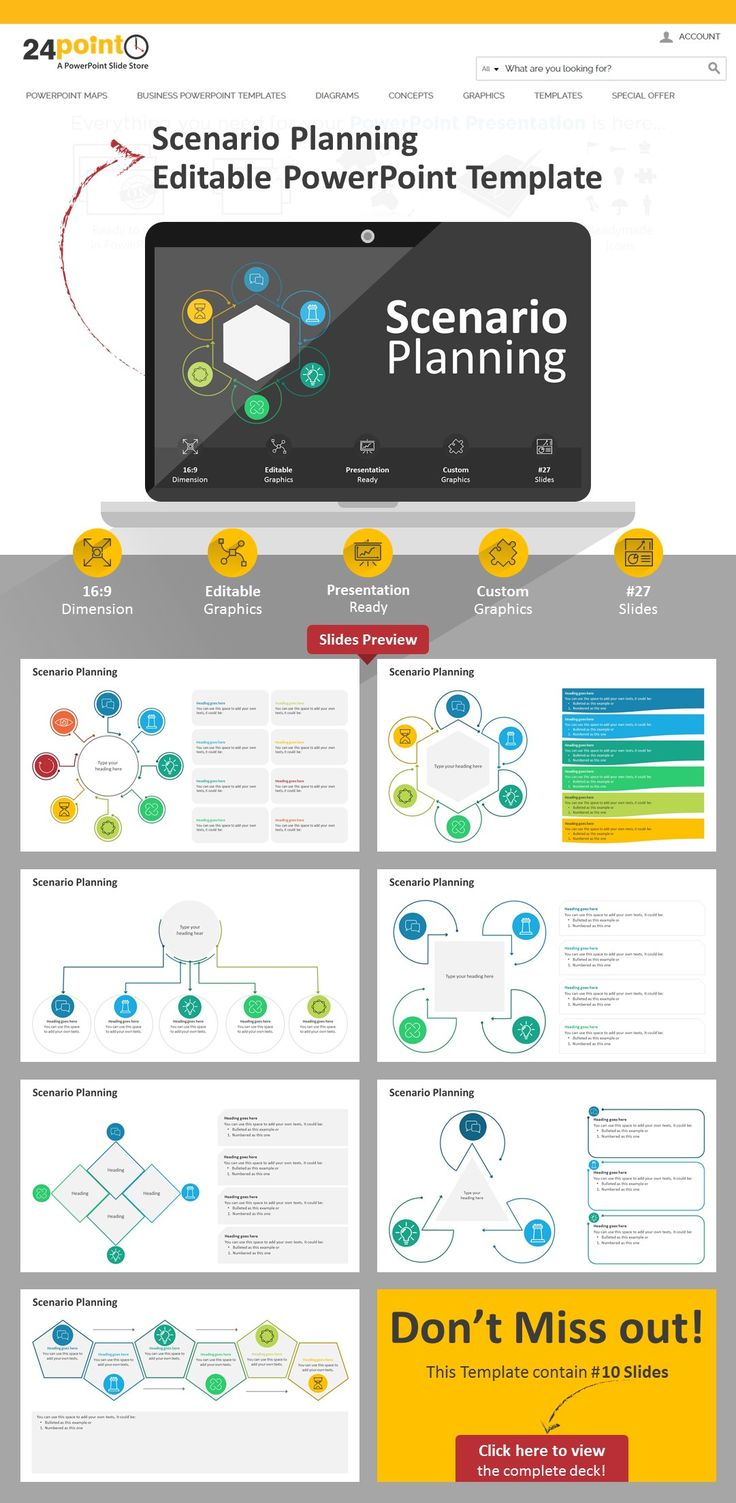 137 best business concepts models powerpoint templates slides this scenarioplanning editable deck consist of 22 slide whic features illustrations to help create an toneelgroepblik Choice Image