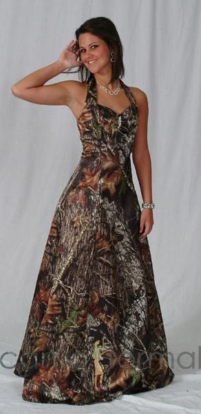 I'm pretty sure this is the prom dress I will get. Hope the guy I go with likes camo :)