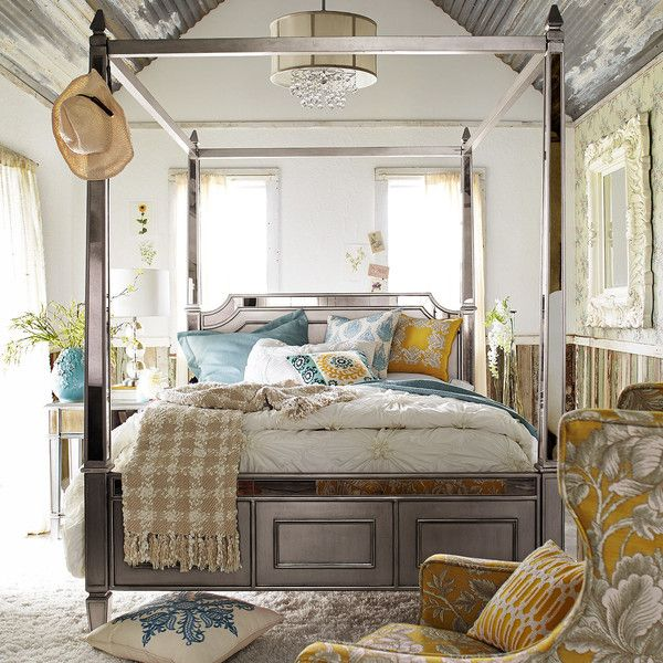Home Furniture Bed best 25+ queen canopy bed frame ideas on pinterest | queen canopy