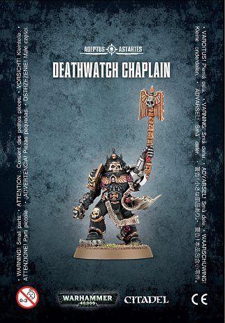 40k Warhammer 40,000 Deathwatch Chaplain (1 figure) No description (Barcode EAN = 5011921078424). http://www.comparestoreprices.co.uk/december-2016-3/40k-warhammer-40-000-deathwatch-chaplain-1-figure-.asp