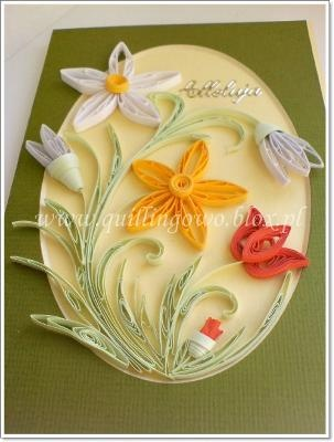 300 best cards quilled images on pinterest paper quilling such a pretty card stopboris Choice Image