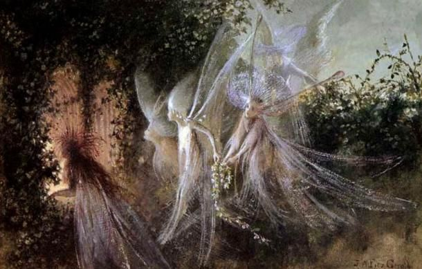 Fairies-looking-through-a-passage.jpg (610×389)