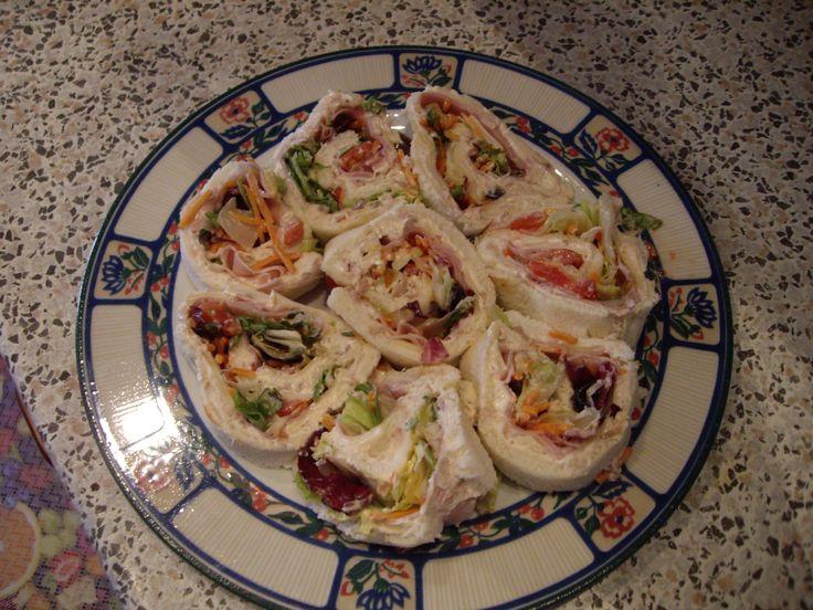 Girelle salate sfiziose