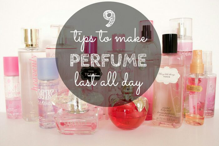You spent 2000 bucks on that lovely perfume bottle only to come home and realize that the smell lasts only for one or two hours. Here are 9 tips to make perfume last all day.