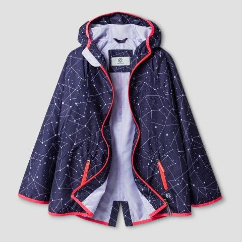 Champion Girls' Rain Cape Purple
