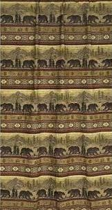 Bear Tapestry Curtain-Now on Sale! - Adirondack Country Store