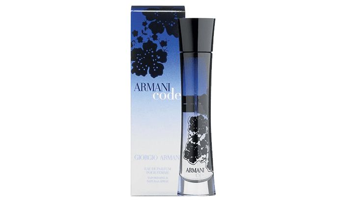 Best Seductive Scent for Women: Giorgio Armani Beauty Armani Code Pour Femme