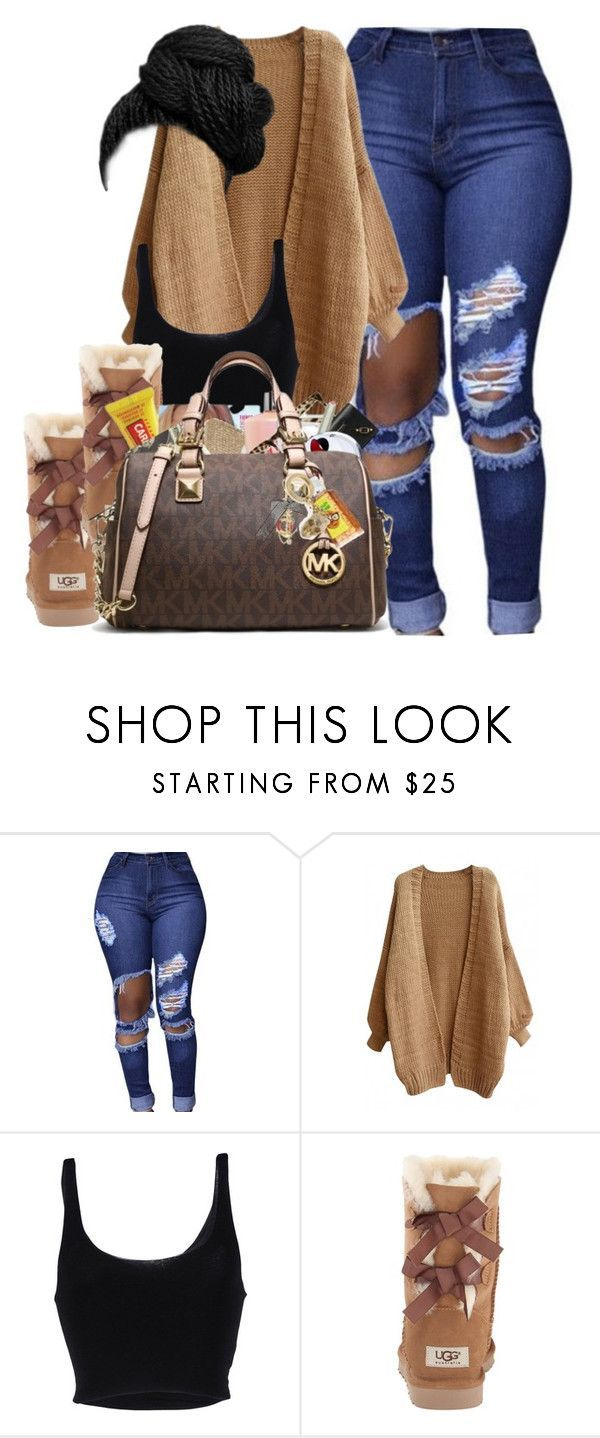 """""""Cute in Cold weather ❤"""" by bipolvr ❤ liked on Polyvore featuring Roque and UGG Australia"""