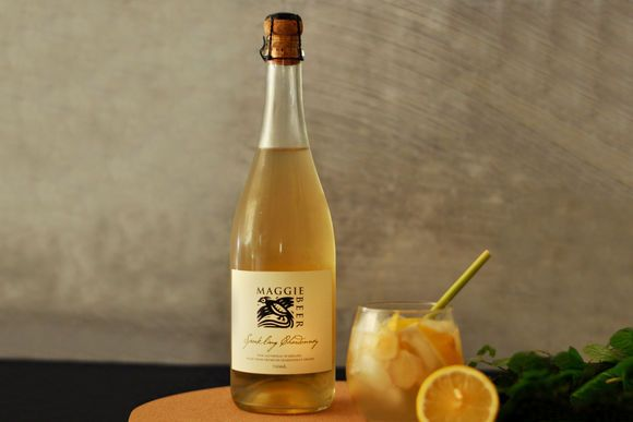 Ginger, Lemon and Sparkling Chardonnay Mocktail - Maggie Beer