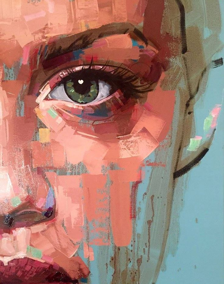 Jimmy Law expressive painter from Cape Town