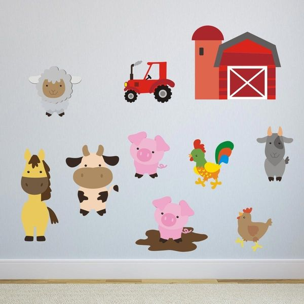 Farmyard Animal Wall Stickers Part 34