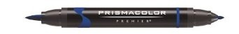 Prismacolor Premier Double Ended Brush Tip and Fine Tip Markers, 12 Cool Grey Colored Markers (1773299)