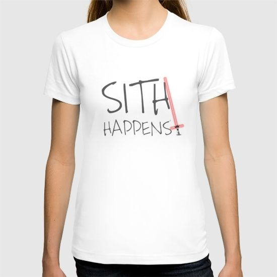 Shit can happen even on the dark side. For that case here is this shirt to remind everybody about it.