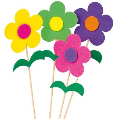Fleurige bloemen om zelf te maken