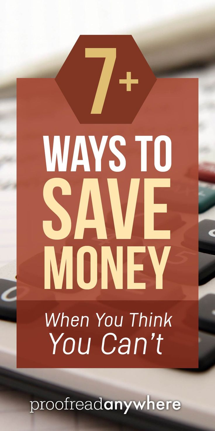 Because saving money doesn't have to suck. Here are 7 ways to save money! via @#