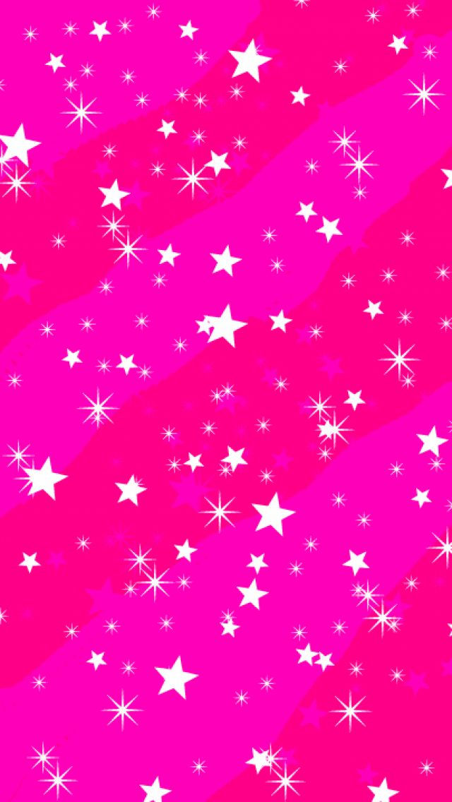 Stars iPhone Wallpaper Pink wallpaper iphone, Colorful
