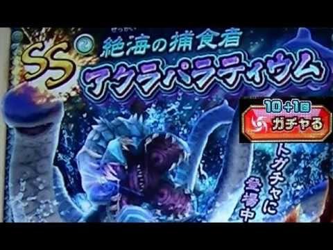 Dragon Project (ドラプロ) ドラゴンプロジェクト - アクラパラティウム - チャンス10+1回ガチャ Monster Gach...