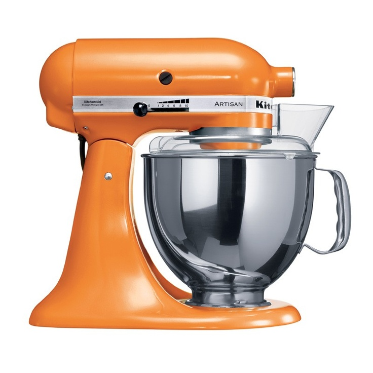 Ksm150 tangerine mixer ksm150 artisan stand mixer