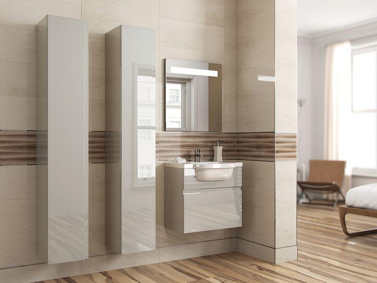 Kashmir Is The New White This Stunning Neutral Shade In High Gloss Blends Ed Bathroomsbathroom Furniturebathroom