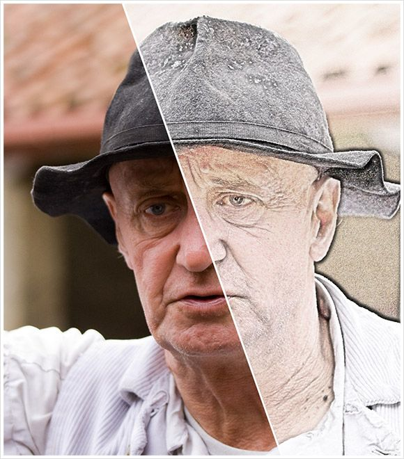 Tutorial - Photo to Pencil Sketch in Photoshop from http://www.graphix1.co.uk/2010/09/20/photoshop-tutorial-photo-to-pencil-sketch/#