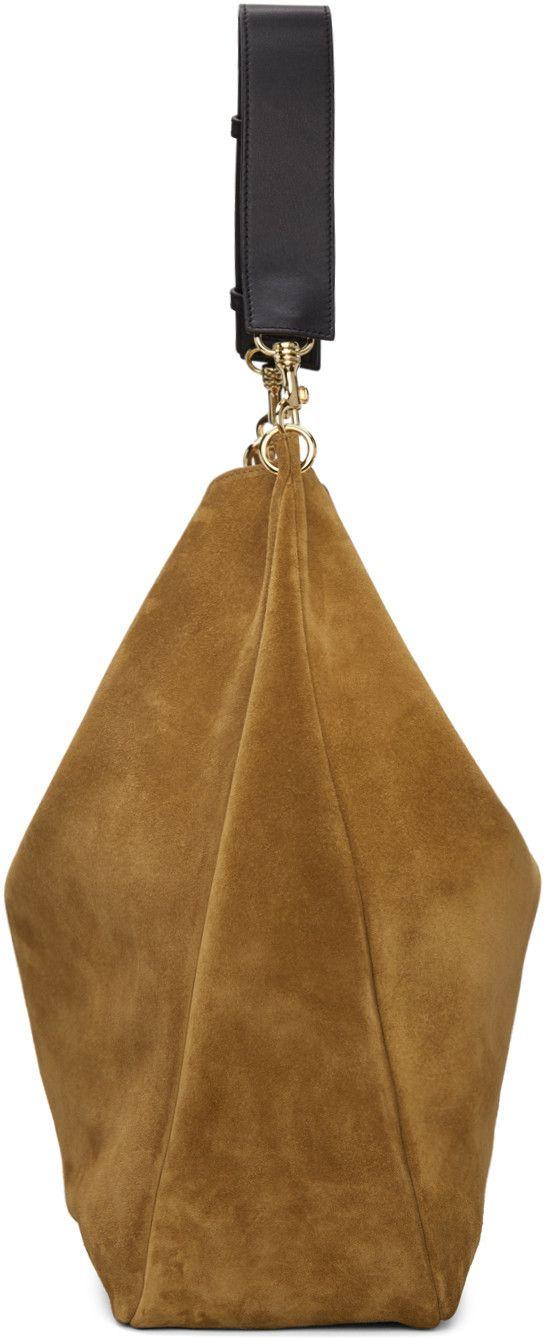 J.W.Anderson - Tan Large Pierce Hobo Bag