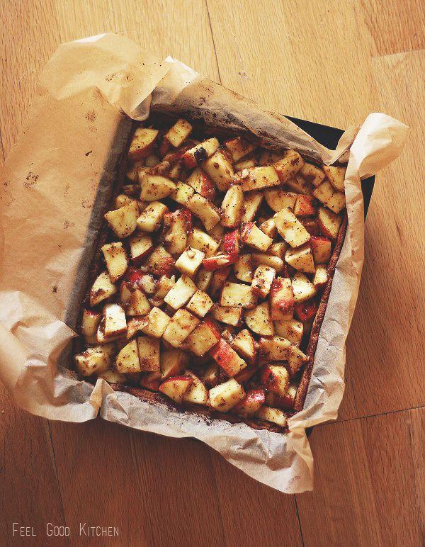 gluteeniton vegaaninen omenapiirakka resepti