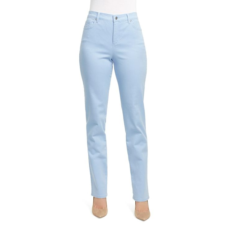 Women's Gloria Vanderbilt Amanda Classic Tapered Jeans, Size: 2 - regular, Blue
