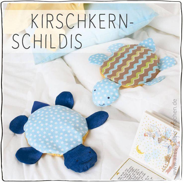 [Tutorial] Kirschkern-Schildis – Mama Maus Blog