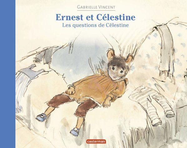 Ce jour-là, Célestine est pensive. Ce qui la préoccupe, c'est de savoir d'où elle vient. Alors Ernest, son papa ours adoptif lui raconte, tout exactement... Pour les 3 à 5 ans. 14,50 € - http://www.amazon.fr/Ernest-C%C3%A9lestine-questions-Gabrielle-Vincent/dp/2203075341/ref=sr_1_1?ie=UTF8&qid=1458554064&sr=8-1&keywords=les+questions+de+C%C3%A9lestine