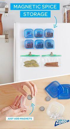 1000 ideas about spice cabinet organize on pinterest kitchen organization small kitchen - Small tricks organizing kitchen comfort ...