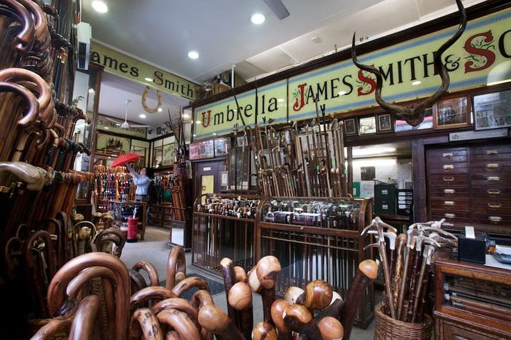 James Smith and Sons | Attribution:  Jorge Royan, Wikimedia Commons,  CC BY-SA 3.0 | #Tags: Retailers, Best Of British, Quintessentially British, Great Britain, United Kingdom