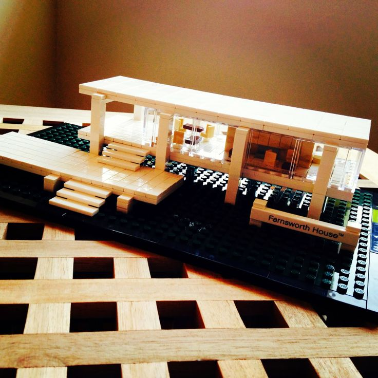 Trust Me I'AM a Woman Engineer: Lego Architecture- Less is More