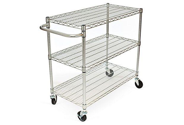 78 best images about storage carts on wheels on pinterest. Black Bedroom Furniture Sets. Home Design Ideas