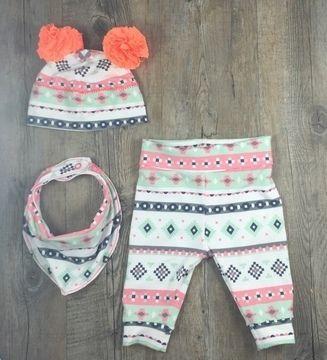 Pastellige Farben im Babyset. Wir finden's hinreißend! Anleitung via Makerist.de
