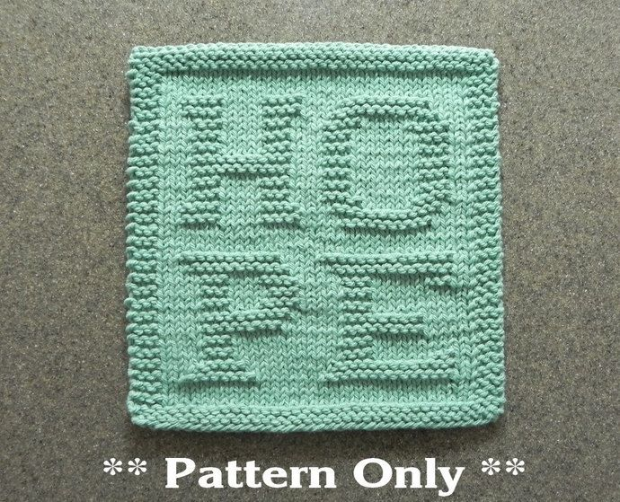 Knitted Dishcloth Pattern With Star : 50 best images about Knit Dishcloth Patterns on Pinterest Knit patterns, Kn...